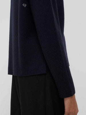 Chinti and Parker The Boxy Jumper in Navy
