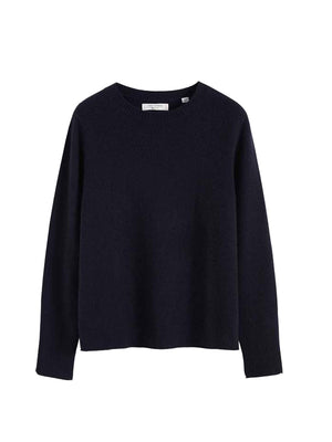 The Boxy Jumper in Navy