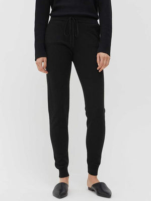 Chinti and Parker The Essentials Track Pant in Black