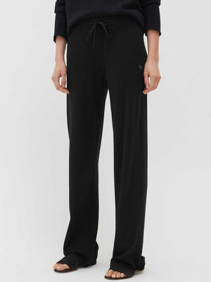 Chinti and Parker The Essentials Wide Leg Pant in Black