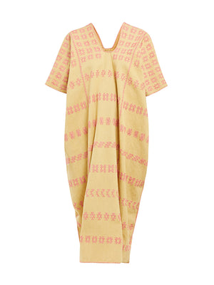 No.105 Embroided Midi Kaftan