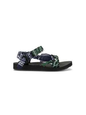 Trekky Sandals in Khaki/Navy