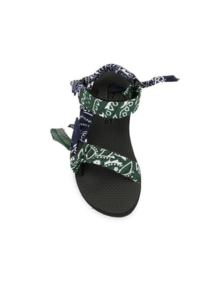 Arizona Love Trekky Sandals in Khaki/Navy