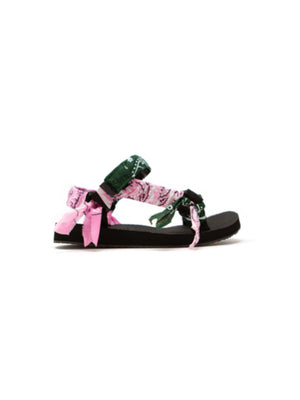 Trekky Sandals in Pink/Kaky