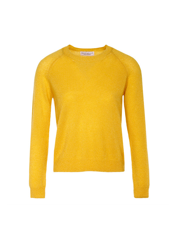 VIRGILIE CASHMERE SWEATER IN SUN