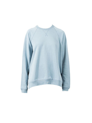 VINCE RAGLAN SWEATER IN SKY