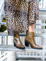 Western Ankle Boot In Kalamata