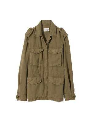 Wren Jacket in Uniform Green