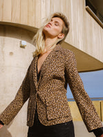 Addison Blazer in Leopard