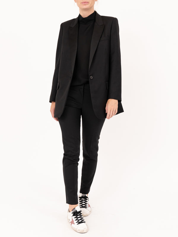 Arlin Tuxedo Jacket in Black