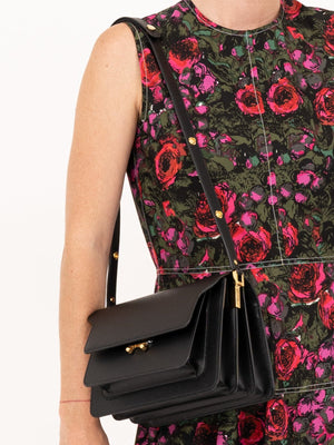 Marni Trunk Bag in Black | Express shipping worldwide