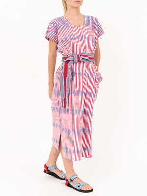 No.146 Embroided Midi Kaftan