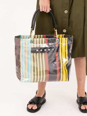Marni Glossy Grip Shopping Bag