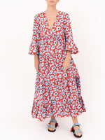 La DoubleJ Jennifer Jane Dress in Flower Leopard