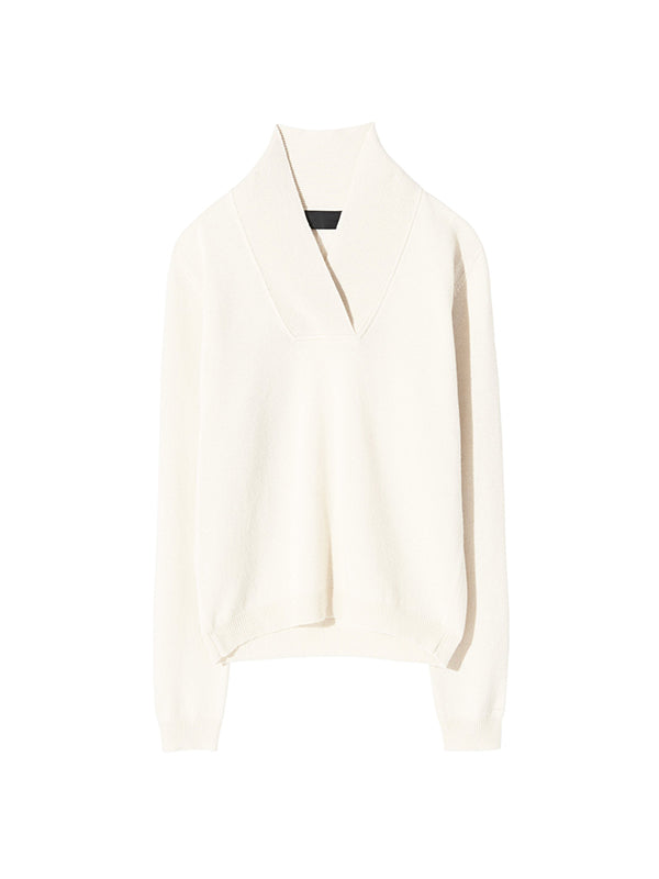 Nili Lotan Beacon Sweater In Ivory