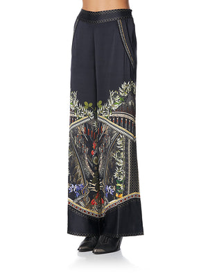 Wide Leg Pant W/ Shaped In Botanica
