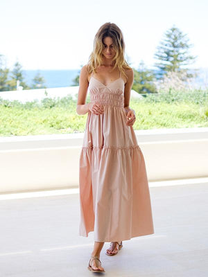 Emma Dress in Rosa