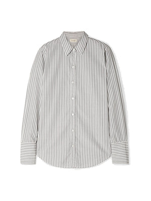Helen Shirt in Grey Stripe