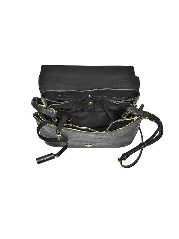 Jerome Dreyfuss Igor Bag in Noir
