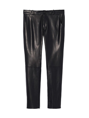 LEATHER EAST HAMPTON PANT