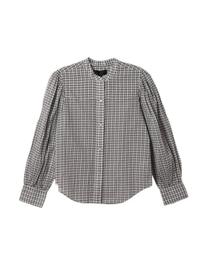 Maisie Shirt In White Check