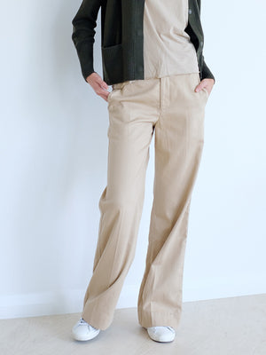 Market Pant in Latte