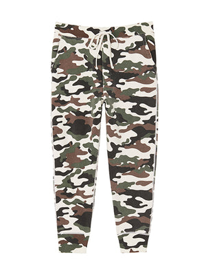 Nolan Pant in White Camouflage