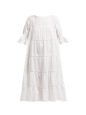 Paradis Dress In White