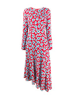 La DoubleJ Pina Dress in Flower Leopard
