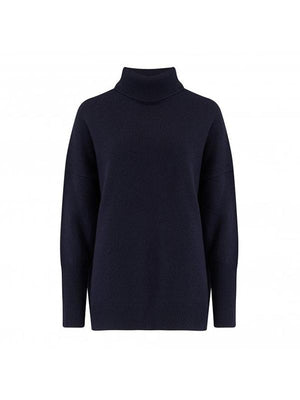 The Relaxed Polo in Navy