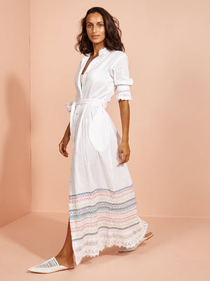Rosewater Shirt Dress