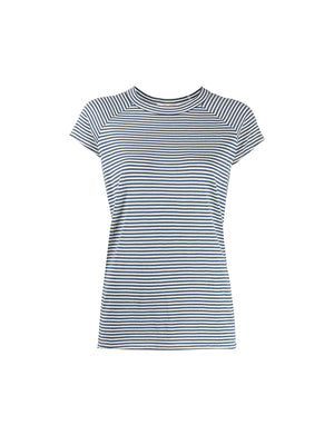 Short Sleeve Baseball Tee in Sailor Stripe