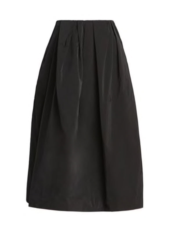 Dries Van Noten Soni Bis Skirt in Black