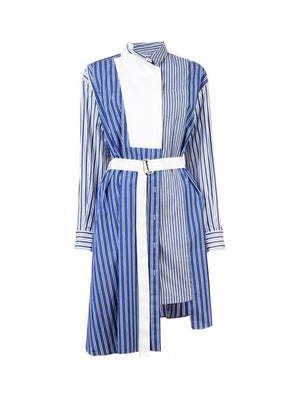 L/S STRIPE DRESS