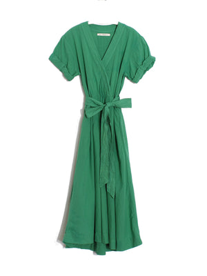Winslow Dress in Palm Green