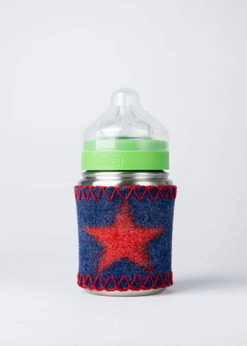 9oz Baby Bottle with sleeve