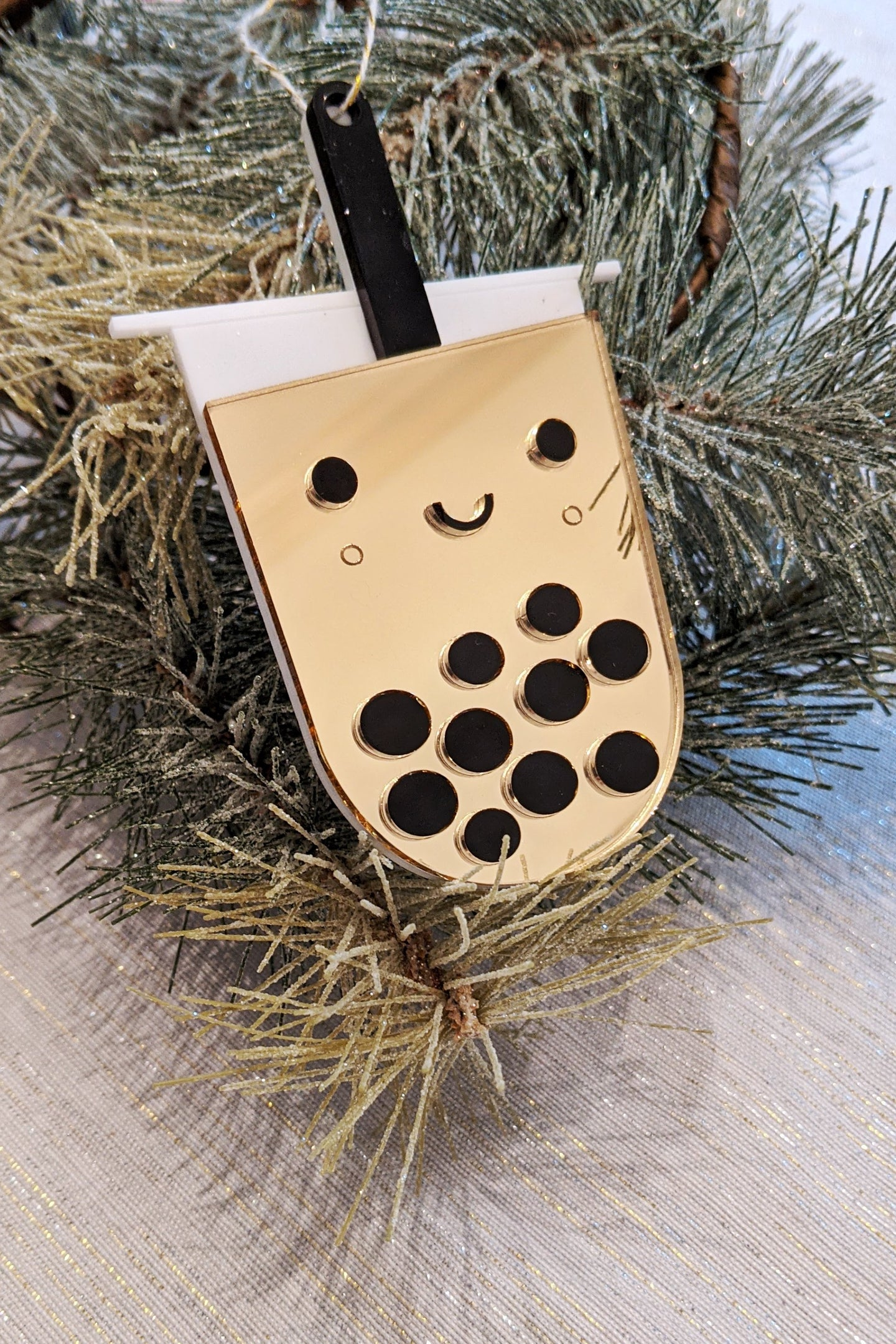 Boba Ornament
