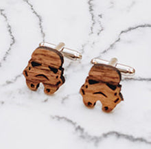 Load image into Gallery viewer, Storm Trooper Cufflinks