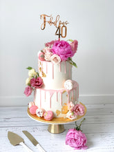 Load image into Gallery viewer, Fabulous 40 Cake Topper