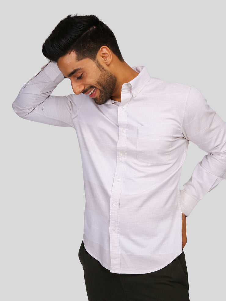 Beige Horizon Shirt