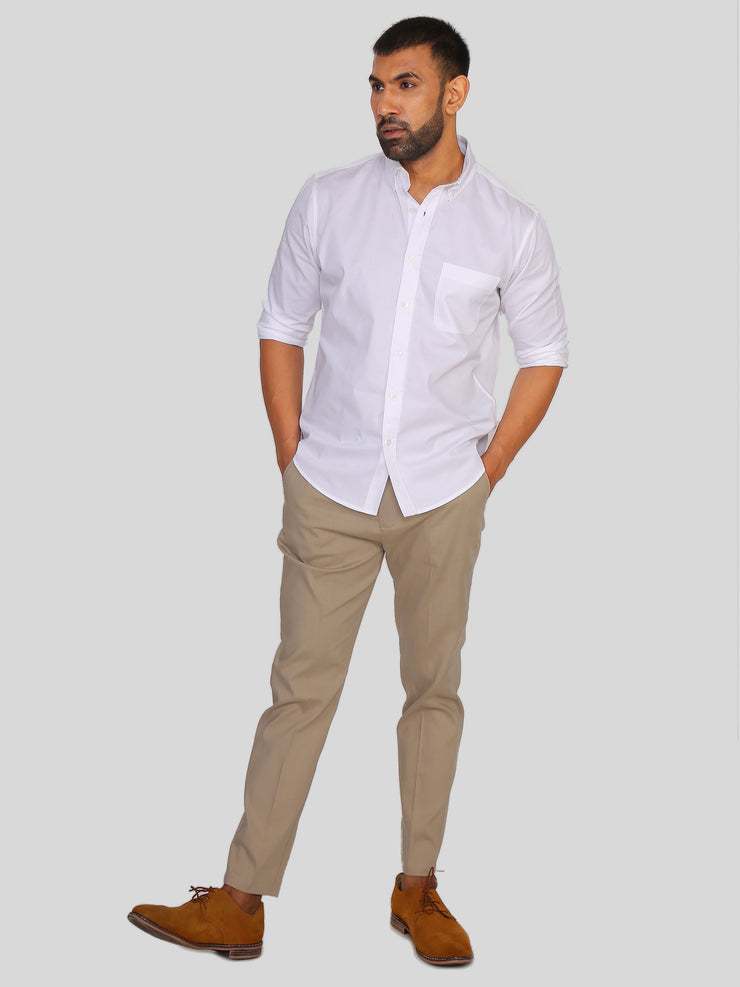 Venice White Formal Shirt