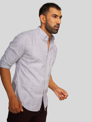 Beige Grindle Check