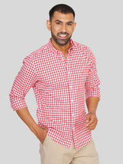 Red Gingham Check