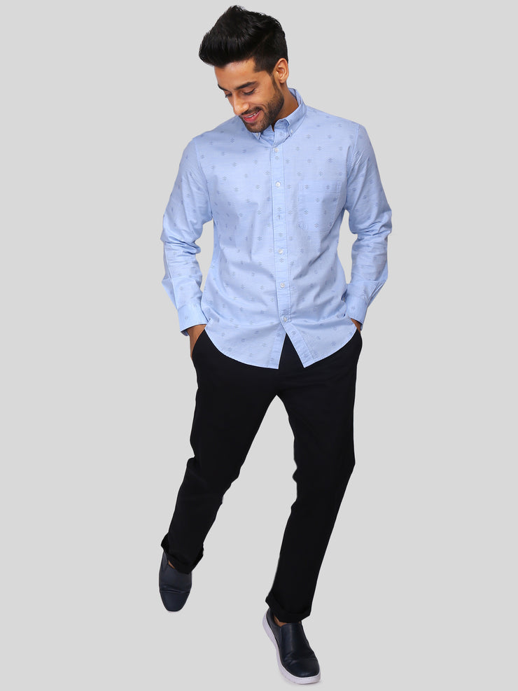 Blue Ceremonial Shirt