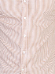 Beige Striped Shirt