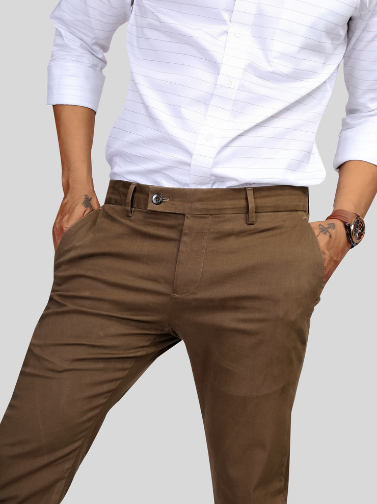 Brown Italian Chino