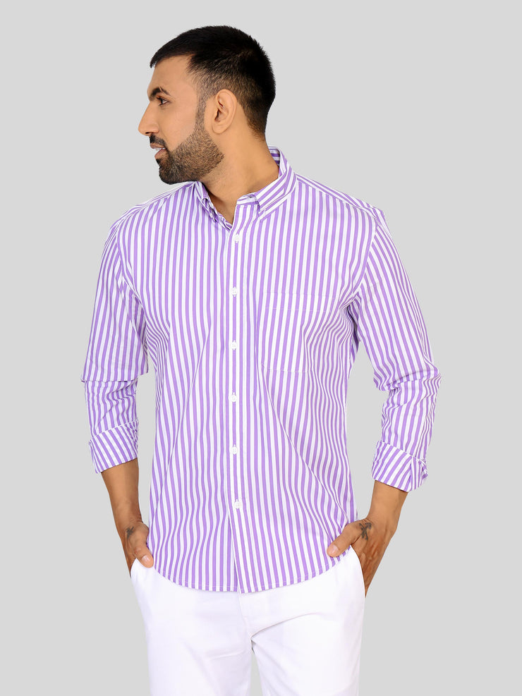 Bombay Purple Stripe
