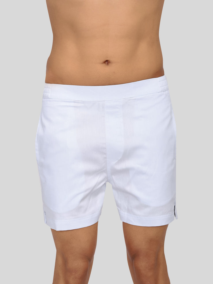 Powder blue premium shorts