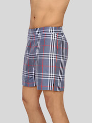 Big grey check premium shorts