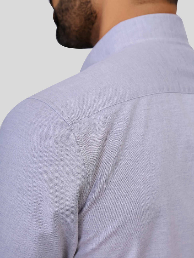 Light Grey Melange Shirt